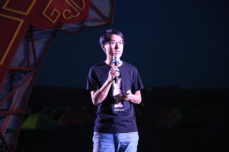 晋永丰棋牌打鱼游戏下载董事长左燕庆先生上台致辞